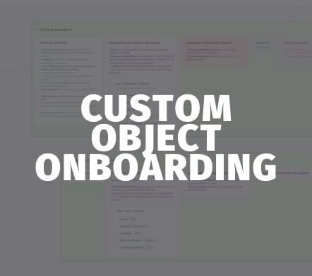 Custom object Onboarding